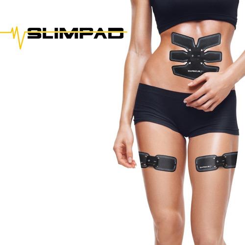 slim pad sistema de electroestimulación muscular cv directo