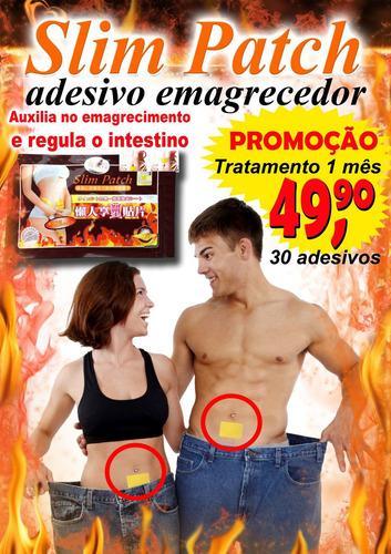 slim patch 30 adesivos