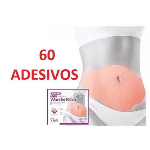 slim patch emagrecedor 60 adesivo queimador seca barriga