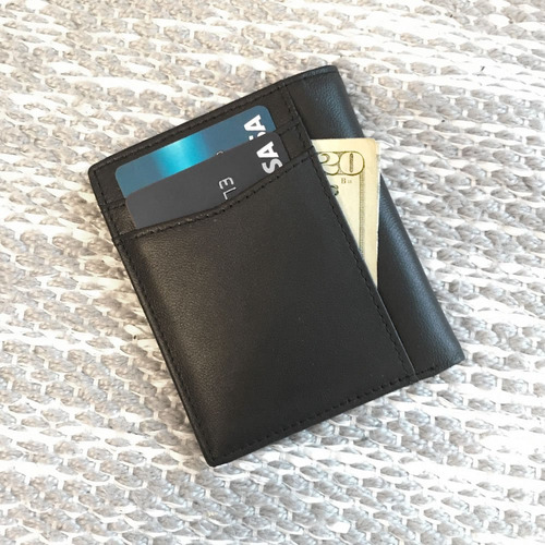 slim vertical bifold (black-oveja)