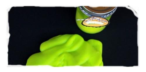 slime brilla oscuridad 2 kilo fiestas colores neon