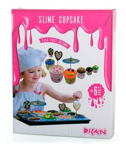 slime cupcake brinquedo divertido brinquedo dican