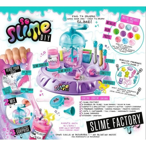slime fábrica