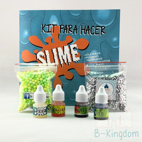 slime : fabrica tu masa estirable, moco  de gorila