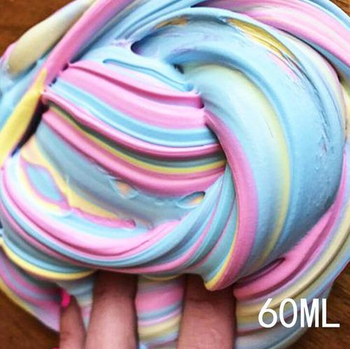 slime foam juguete regalo niños divertido colorido juego