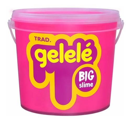 slime gelelé massinha glitter geléia balde grande