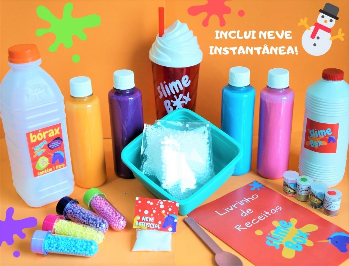 9ecba5474c717 Slime Kit Para Fazer Slime Original Super Barato Promoção! - R  99 ...