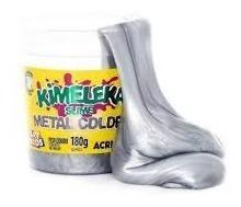 slime metal kimeleka geleia cores metalicáskit cx12 unidades