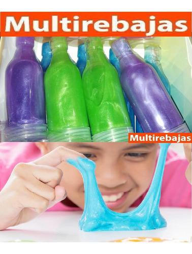 slime para niños en botella juguete para diversion