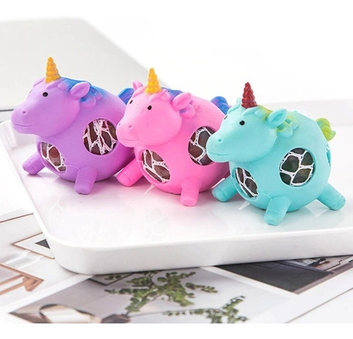 slime unicornio squishy importado flexible juguete nilña