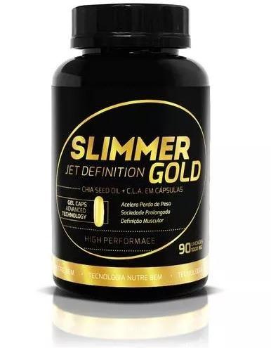 slimmer gold - jet definition - 90 caps emagrecimento rápido