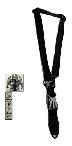 sling tactico porta fusil para chaleco 1 y 2 puntos militar