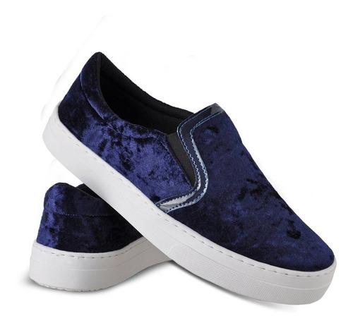 slip on feminino adaption shoes promoção emanuelly