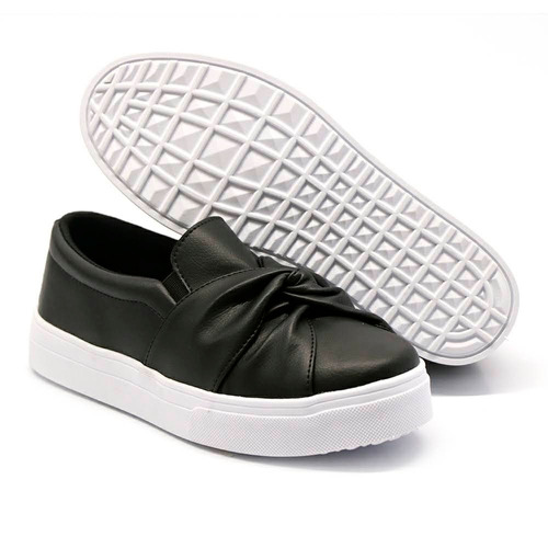 slip on nó couro sintético ou jeans(fantática promoção)