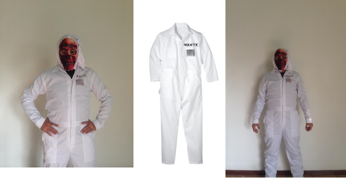 Slipknot All Out Life Jumpsuit