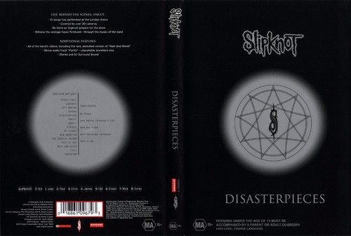 slipknot disaster pieces concierto