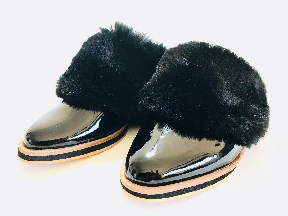 9b508eb24c8 slippers zuecos zapatos con pelo mujer invierno 18 hot sale. Cargando zoom.