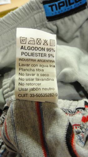 slips algodon tipico  talles 5