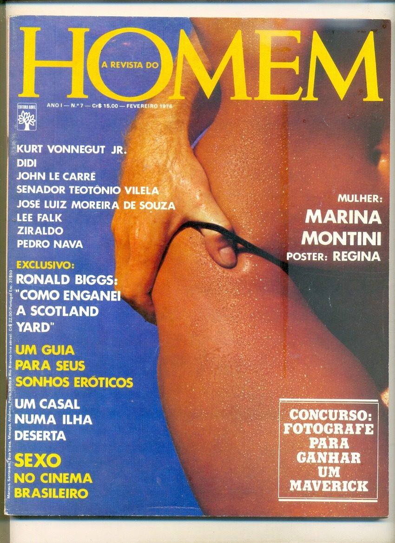75f75b72ca sll  Revista Homem N. 07   Playboy Ano. Fevereiro De 1976 - R  60
