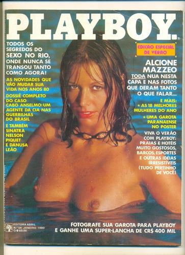 *sll* revista playboy n. 54 - alcione mazzeo -  janeiro 1980