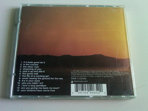sloan pretty together cd usado importado  canada