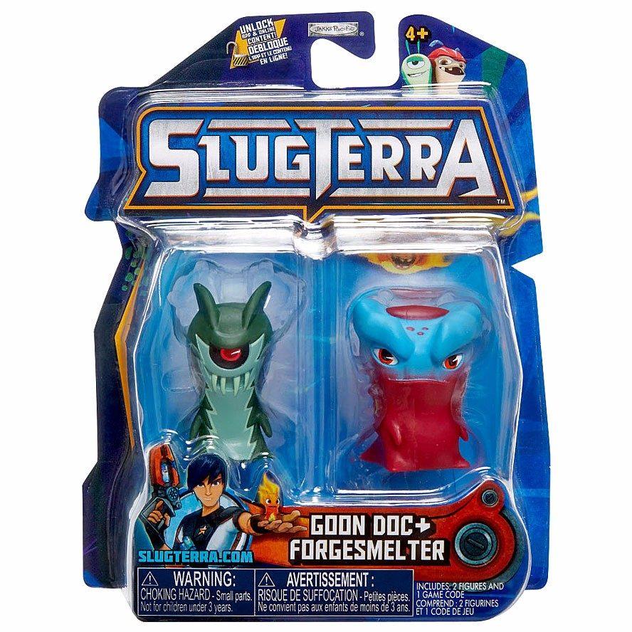 Slugterra Bajoterra Goon Doc Megamorph Forgesmelter