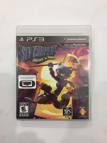 sly cooper ps3