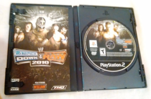 smackdown vs raw 2010 play station 2 ps2