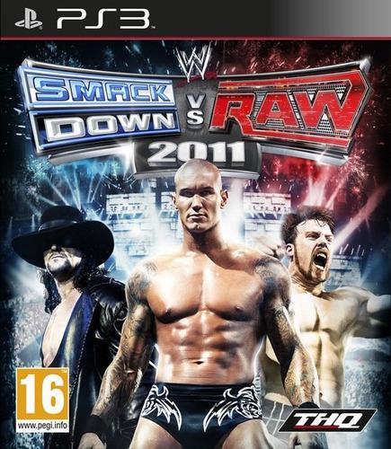 smackdown vs raw 2011 ps3 detalle*