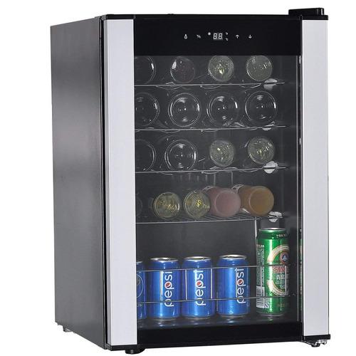 smad 19 botellas de vino compresor del refrigerador de zona