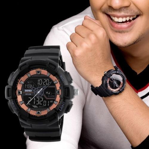 8c9a75587ae7 Smael Reloj Análogo-digital Para Hombre Color Negro -   36.990 en ...