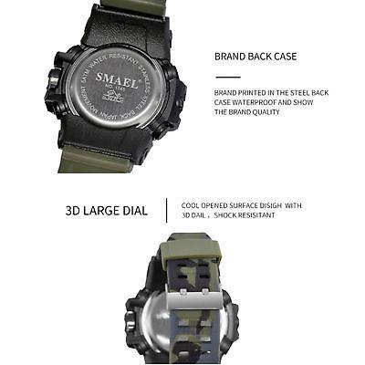 199ee3ff90fe Smael Reloj Digital De Cuarzo Analógico... (camo Khaki) -   37.990 ...