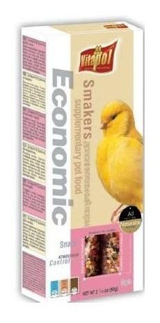 smakers economico para canarios 60 g 2 barras pethome chile
