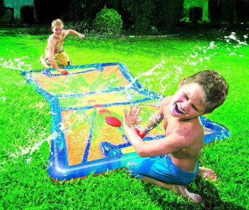 small world toys active edge- aqua blast hockey