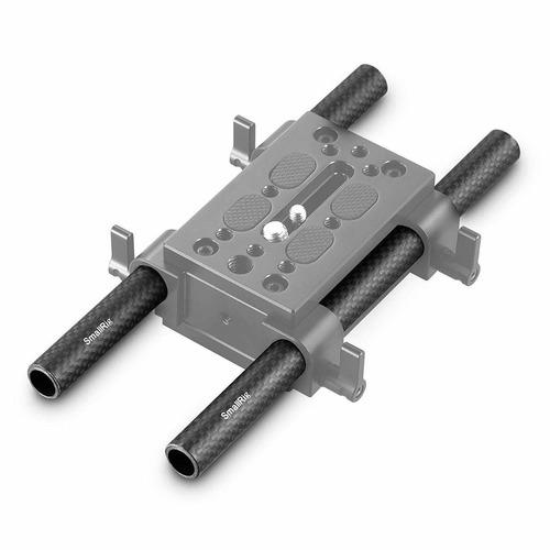 smallrig 15mm carbon fiber rod 20cm 8 inch, pack of 2 - 870