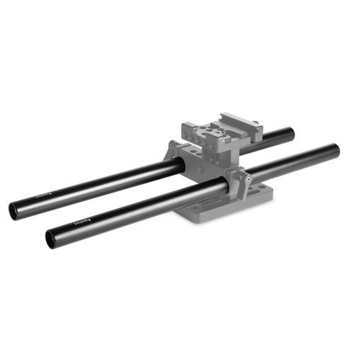 smallrig 15mm varillas de aleación de aluminio 30 cm 12 pulg