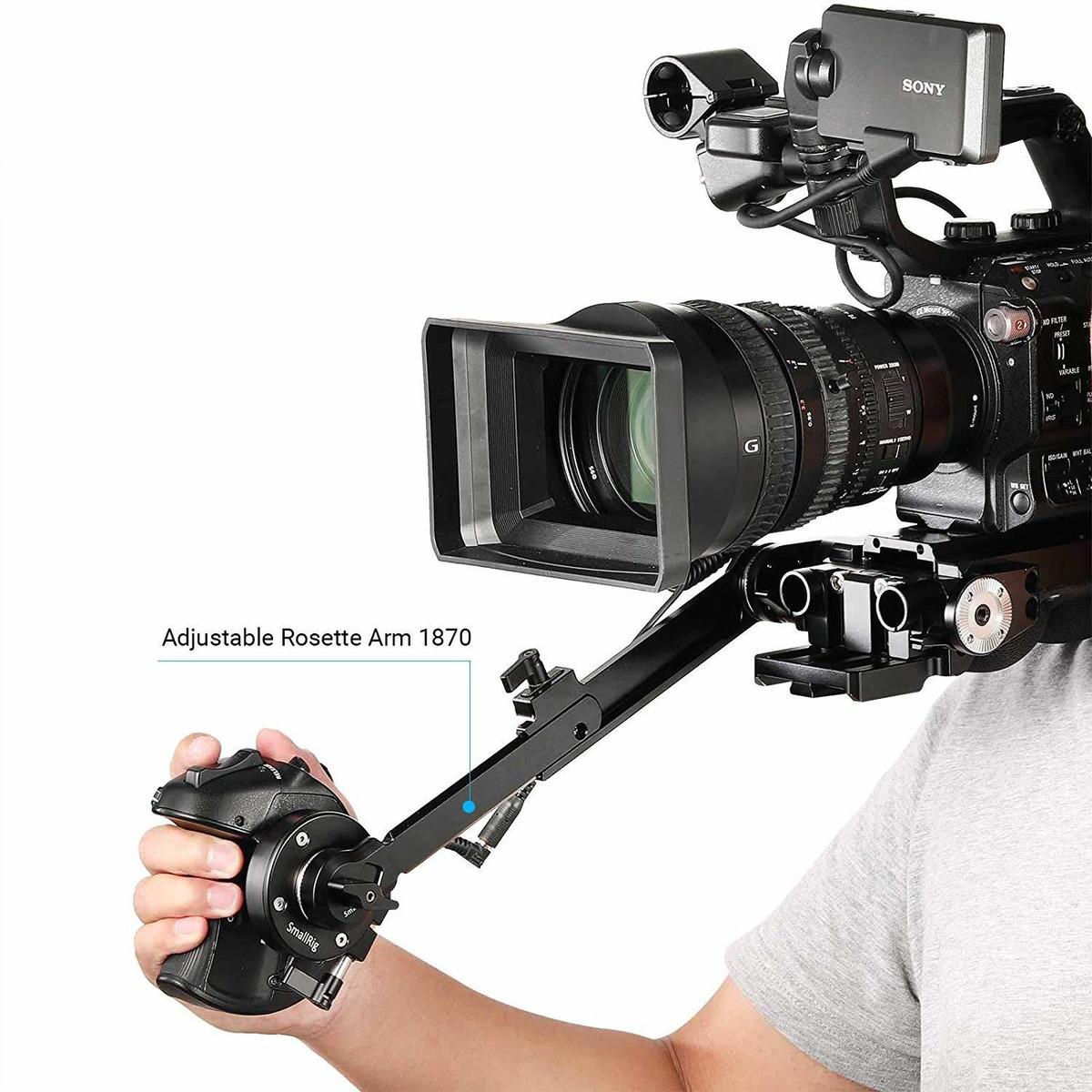 Smallrig Adaptador De Mano Agarre Sony FS5 con Cable de extensión de roseta /& Arri 2192