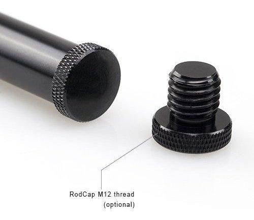 10cm Pack de 4 pulgadas 1049 par Aleación de Aluminio Negro smallrig Varilla de 15mm