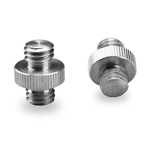 smallrig doble cabeza stud adaptador 38 macho a 38 macho thr