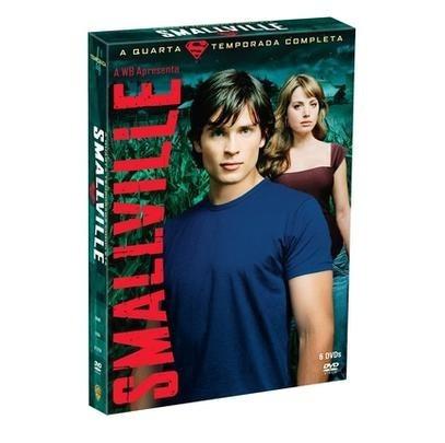 smallville 4 temporada completa box 6 dvd original