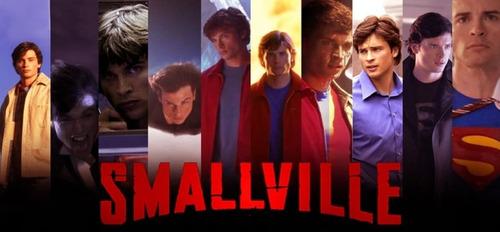 smallville 7° temporada completa + balde de pipoca de brinde