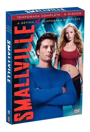 smallville 7ª temporada completa - box lacrado - promoção