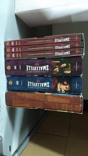 smallville dvd original temporadas 1 2 3 y 5. pack completo