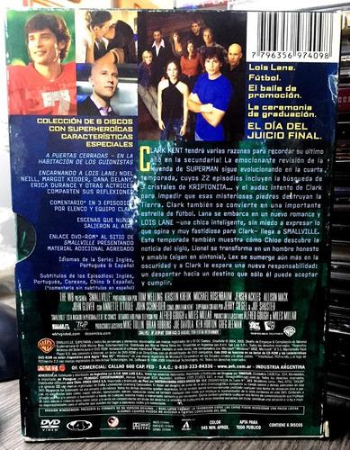 smallville - la cuarta temporada (2006) 6 dvds
