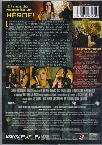 smallville novena temporada 9 nueve dvd