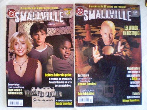 smallville! vários! r$ 10,00 cada! panini 2004!