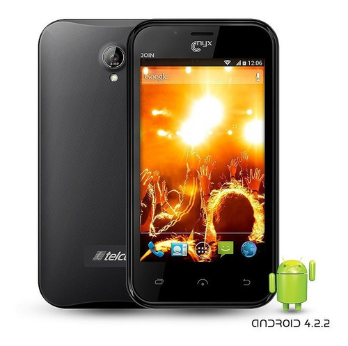 smarphone nyx join 8.0 mp android 4.2.2 lcd 4''