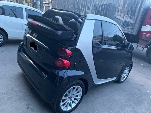smart 1.0 fortwo cabrio / negro, impecable!!