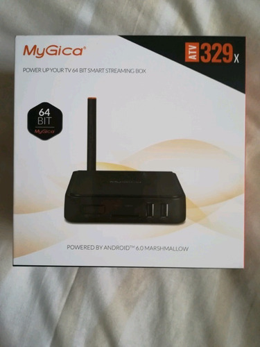 smart android  tv box mygica 329x netflix youtube kodi 4k