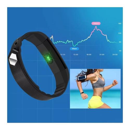 smart band id115hr cardio reloj fitness tracker bluetooth